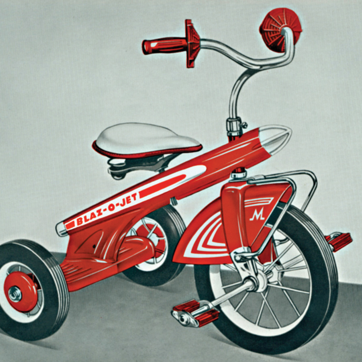 red pedal bikes